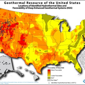 Geothermal Resource of the US